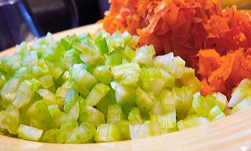 Celery-carrots