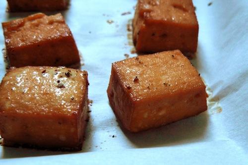 Tofu-squares